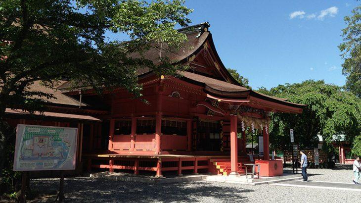 日本の中心のパワースポット、富士の神々にご挨拶【富士山本宮浅間大社・冨知神社】