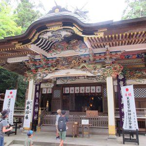 寳登山神社と、力の強い宝玉稲荷神社のお稲荷様