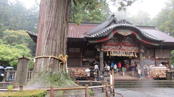 重厚な杉並木と、たくさんの御神木がある癒しの神社【北口本宮富士山浅間神社】