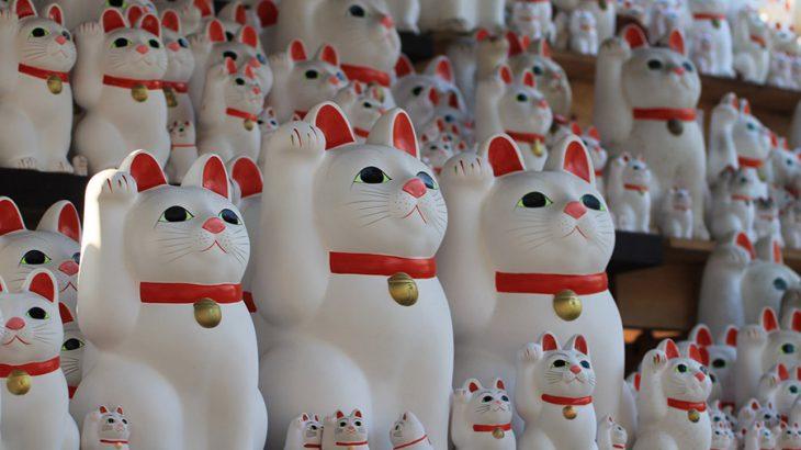 本家招き猫発祥の寺【豪徳寺】と、平成版招き猫ブームの神社【今戸神社】