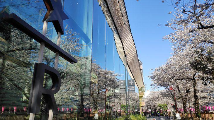 中目黒の満開の桜と、スターバックス リザーブ ロースタリー トウキョウ