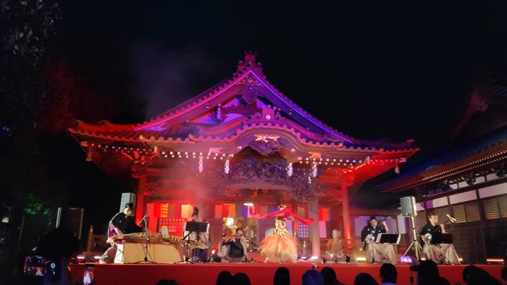 お経ライブやコンサート、落語や忍者体験もあって老若男女が楽しめる、正覚寺400年記念祭