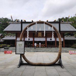 とってもキレイな櫻木神社と、いい気分になれる川屋神社