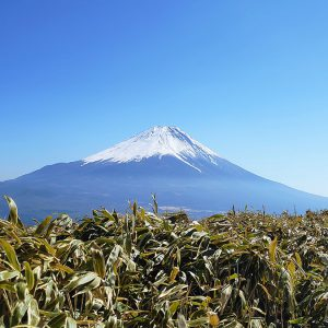 富士山好きなら登ってほしい山【竜ヶ岳】と皮膚病に霊験あらたかな【不動湯】