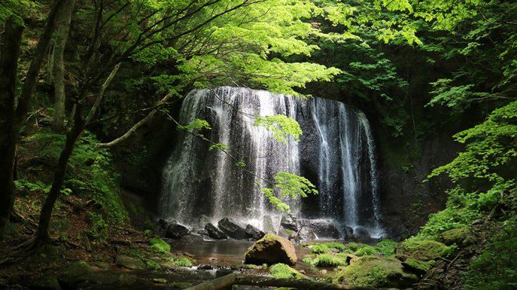 なかなか良かった達沢不動滝とあぶくま洞